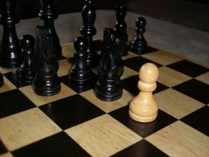 Mobbing Schachspiel